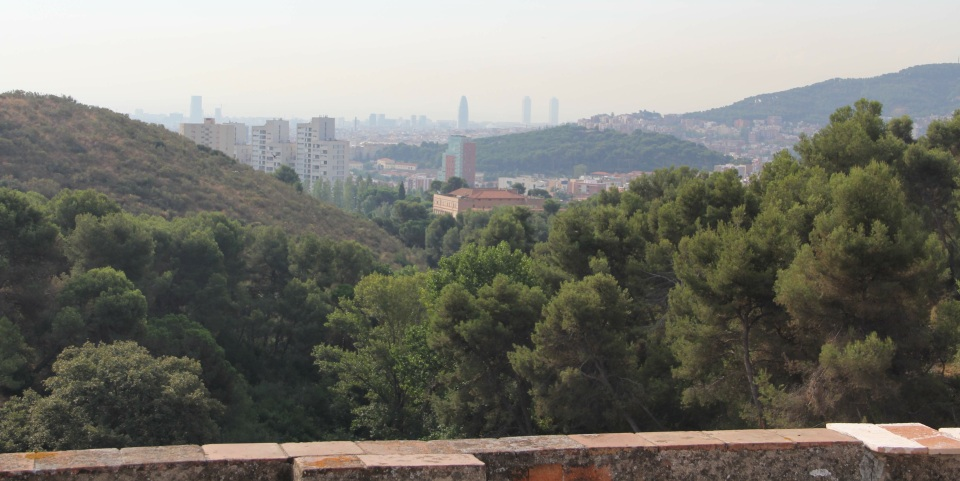 View from the roof of Can Masdeu