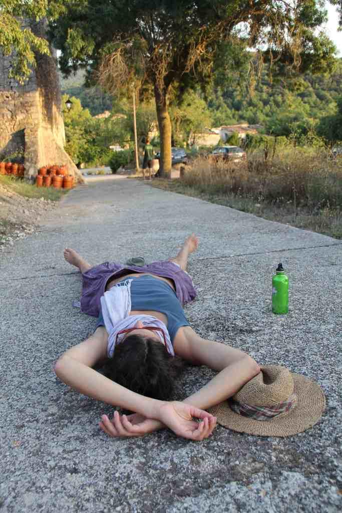 Sonja resting above Esblada